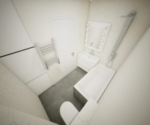 вид сверху ванная комната